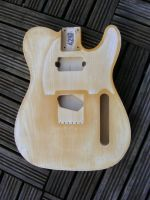 replacement body for Tele HS (light ageing) © 2019 42nd Street Guitars