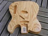Replacement body for Telecaster, premium swamp ash © 2017 42nd Street Guitars