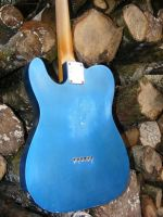 Broadway 6 Lake Placid Blue over Inca Silver © 2018 42nd Street Guitars