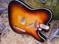 replacement Double-bound  body for tele (aged not worn) © 2019 42nd Street Guitars