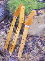Replacement necks for Strat and Tele, aged nitro © 2017 42nd Street Guitars