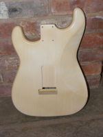 replacement body for strat MK blonde (aged not worn) © 2019 42nd Street Guitars