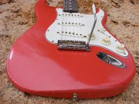 Fiesta red  © 2018 42nd Street Guitars