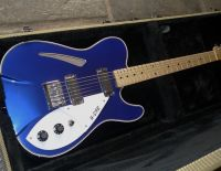 42nd street R cab thinline midnght blue © 2021 42nd Street Guitars