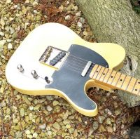 Broadway 5 butterscotch blond nitro aged © 2020 42nd Street Guitars